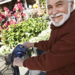 Man Happy With His Free Medicare Mobility Scooter